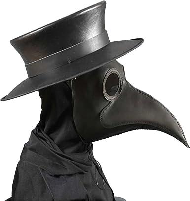 Raxwalker plague doctor Bird Mask Long Nose Cosplay Steampunk Halloween
