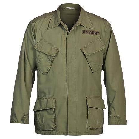 USA chaqueta de campo, Vietnam Acanalado - oliva lavado, XXL
