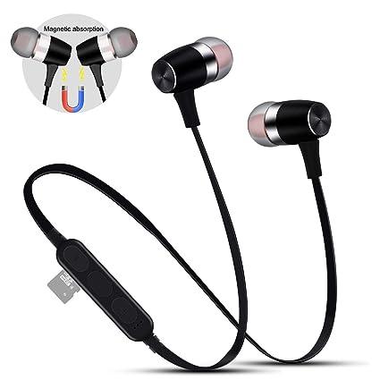 Etmury - Auriculares deportivos con Bluetooth y ranura para ...