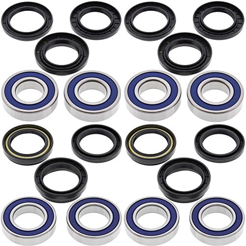 Bearing Kit for Front and Rear Wheels fit Yamaha 660 RHINO 04-07