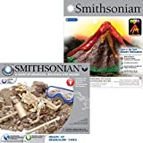 NSI Smithsonian Giant Volcano and Dinosaur Dig 2 Set Kit