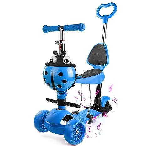 Baby Stroller YXGH@ Patinete para niños 1-2-3-6 años de Edad ...