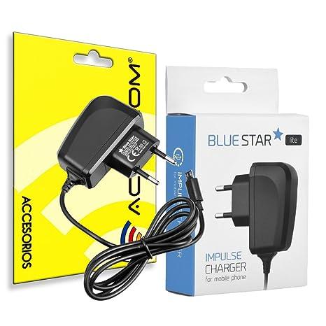 actecom Cargador de Red Blue Star 5V-1A Micro USB Universal ...