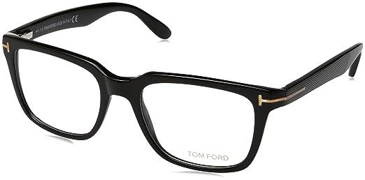 e828e448f9 Amazon.co.jp: (トムフォード) TOM FORD メガネフレーム ブラック 眼鏡 めがね TF-5304-001 [並行輸入品]:  服&ファッション小物