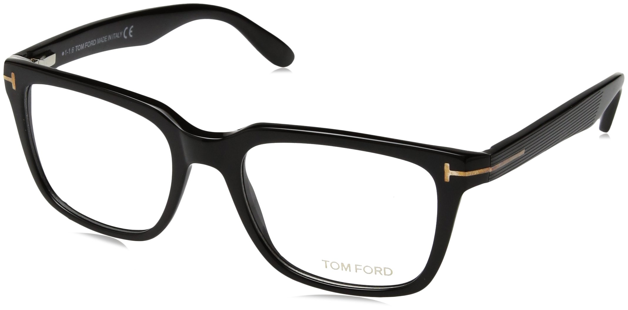 TOM Ford Eyeglasses Tf 5304 001 Shiny Black Tf5304-001-54mm