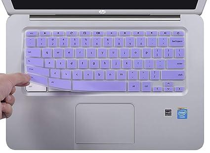 CaseBuy Keyboard Skin Compatible 2019/2018/2017 HP 14 inch Chromebook | HP  Chromebook 14-ak Series | HP Chromebook 14-ca Series | HP Chromebook 14 G2