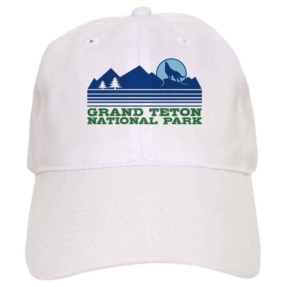 64934afaf Amazon.com: CafePress - Grand Teton National Park Cap - Baseball Cap ...