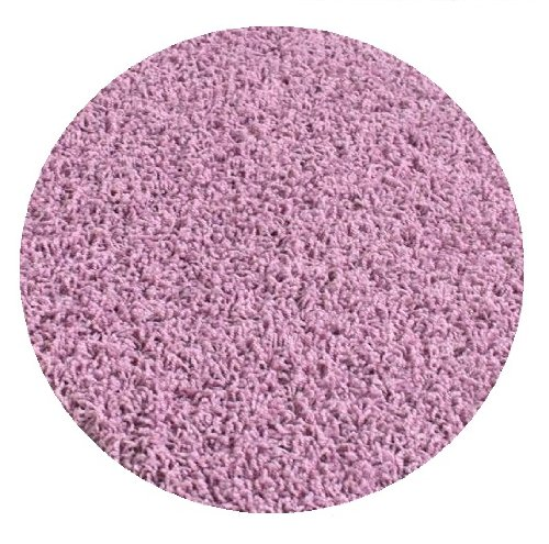 Chic Lavender Purple - 5' ROUND Custom Carpet Area Rug by Children's Choice