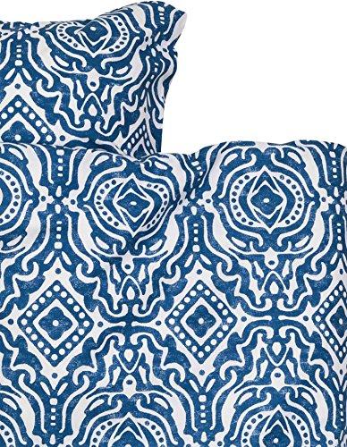 Blue Italian Duvet Cover - 4