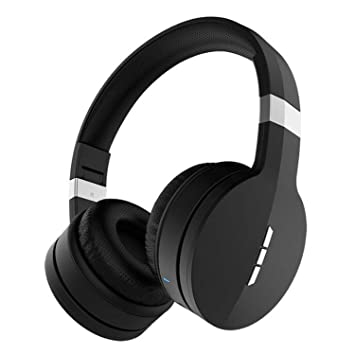 Hzhy Auriculares inalámbricos Bluetooth Auriculares Deportivos 41 Auriculares Plegables universales Subwoofer (Negro + Plata, Negro + Oro Rosa) (Color ...