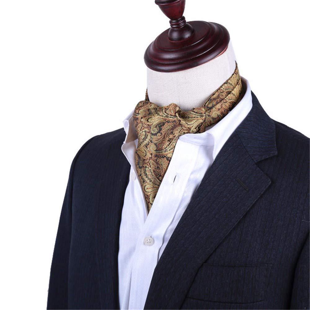 pyty123 Bufanda De Los Hombres Camisa del Escote Bufanda del Traje ...