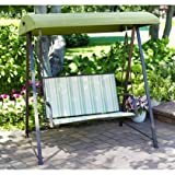 Striped 2 Person Swing Replacement Canopy Top Cover Review