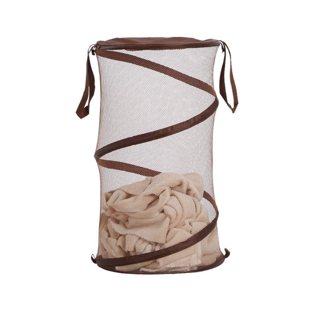 Melodycp Gran Cesta Plegable para cestos de Ropa Duradera Cesta de Ropa Sucia Impermeable y Extensible del pa/ño de Oxford del hogar Bolsa de Ropa Sucia con Mango para ba/ño