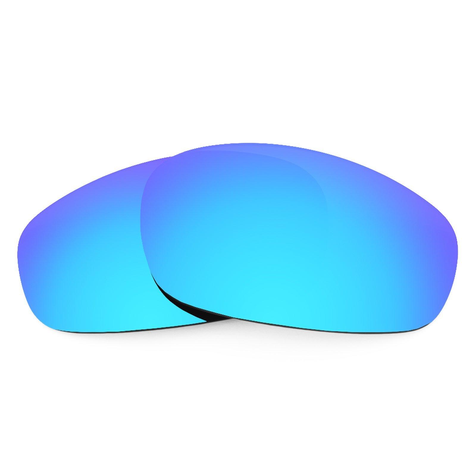 Revant Polarized Replacement Lenses for Oakley Split Jacket Ice Blue MirrorShield