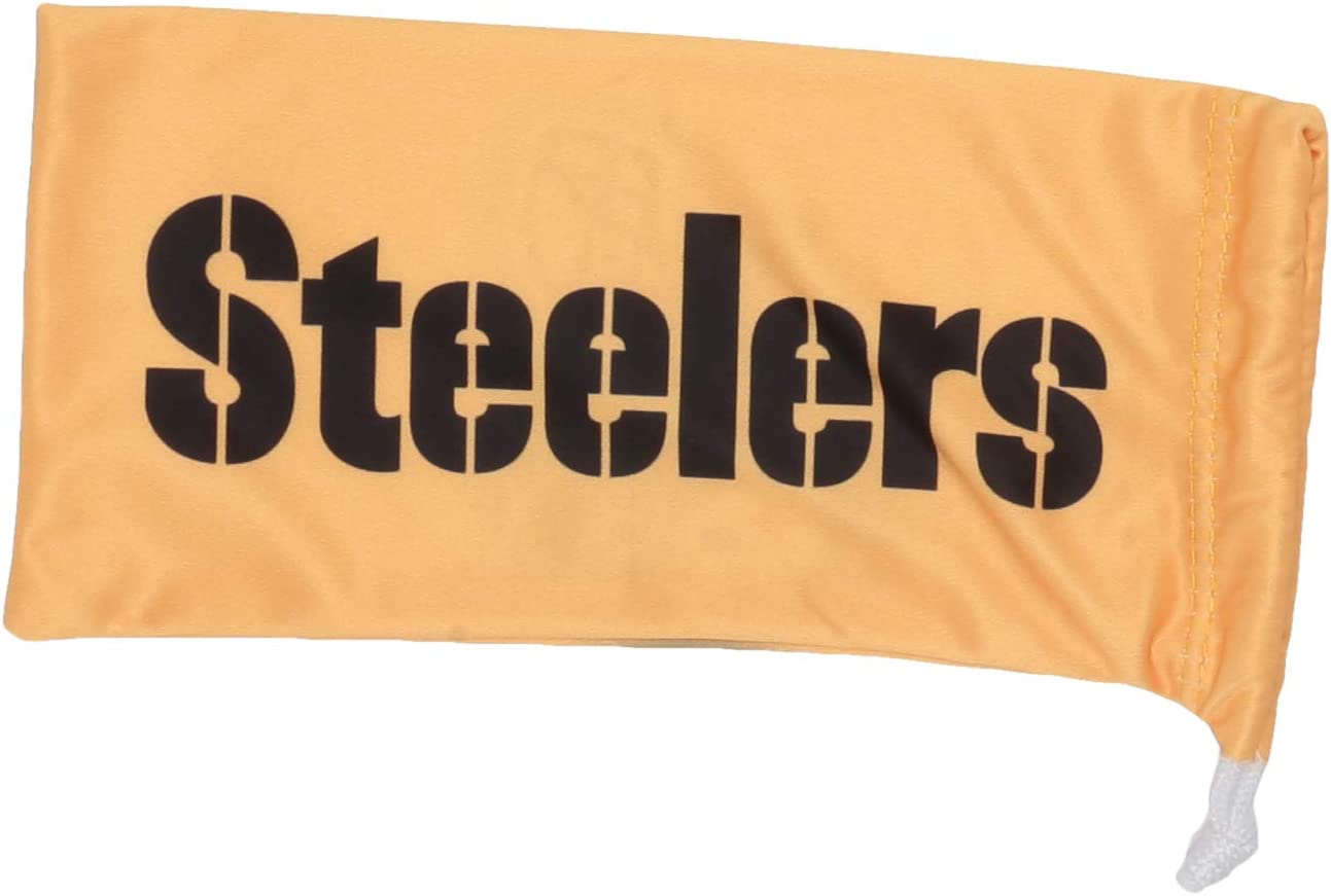 NFL Pittsburgh Steelers Microfiber Glasses Bag