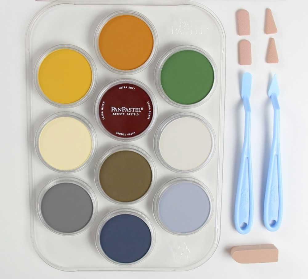 Panpastel 10 Color Drawing Set