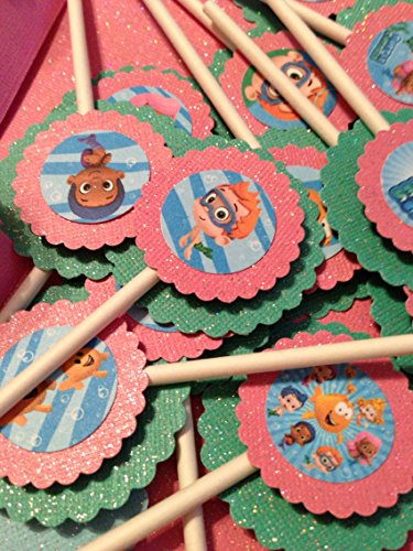 New...Inspired BUBBLE GUPPIES Cupcake -