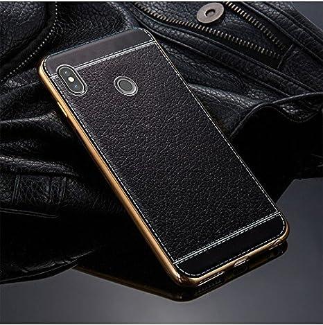 Excelsior Silicon Back case Cover for Xiaomi Redmi Note 6 Pro  Black  Mobile Accessories