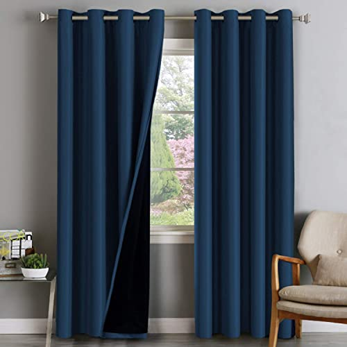 Double Layer 100 Blackout Curtain