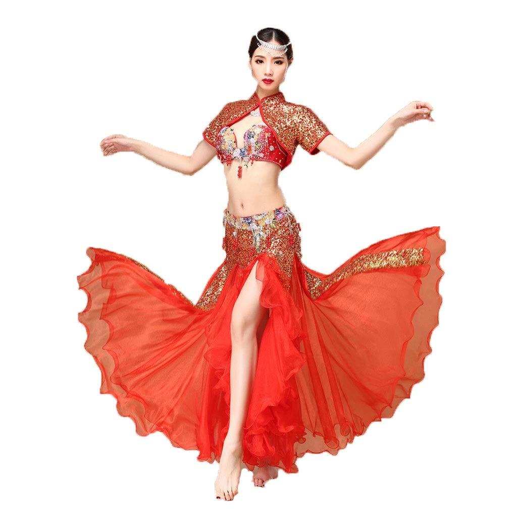 安いそれに目立つ 大人の女性のベリーダンスの衣装の衣装のブラのスーツセットスパンコールベストパフォーマンス B07PHYRBMJ L L B07PHYRBMJ l|レッド レッド レッド L l, 北海道の味覚 北彩庵:2b4cfbb5 --- a0267596.xsph.ru