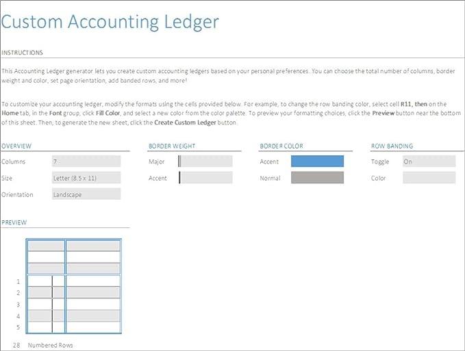 amazon com account ledger excel generator