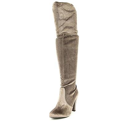 1e7fcb210085 Amazon.com | Steve Madden Women's Gorgeous Velvet Knee-High Suede ...