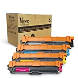 V4ink Compatible Toner Cartridge Replacement for Brother TN241 TN242 TN245 TN246 for use with Brother HL-3140CW HL-3170CDW HL-3150CDW DCP-9020CDW DCP-9015CDW MFC-9340CDW MFC-9330CDW MFC-9140CDN MFC-9130CW (Black, Cyan, Magenta, Yellow / Pack of 4)