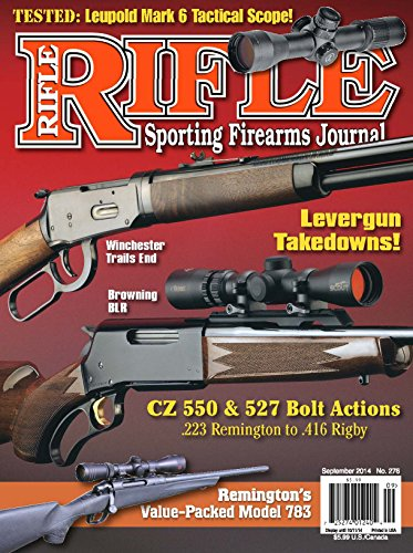 Rifle Magazine - September 2014 - Issue number 276