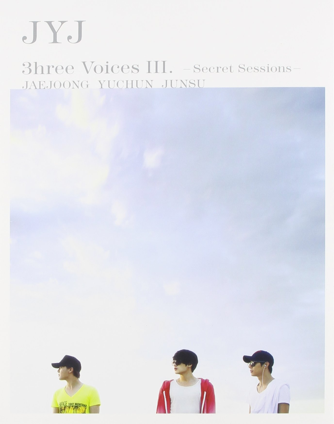 DVD : JyJ - 3hree Voices (Asia - Import, NTSC Region 0, 2PC)