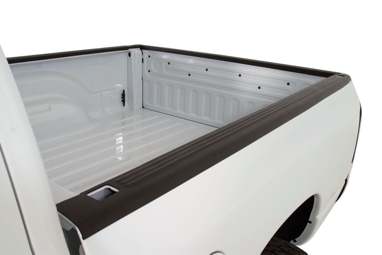 Wade 72-01681 Truck Bed Tailgate Cap Black Smooth Finish for 1987-1996 Ford F-150 F-250 F-350 (Except Stepside bed)
