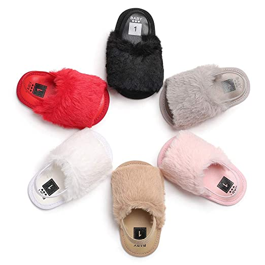 Guoainn Comfortable Baby Shoes Clearance Fashion Faux Leather Newborn Baby Infant Soft Anti-slip Prewalker Toddler Shoes