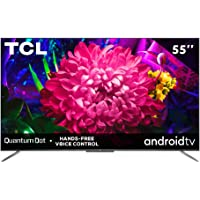 "TCL Pantalla 55"" UHD 4k Dolby Atmos QLED Android Smart TV - 55Q637"
