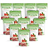 Fructevia - 1 lb bag/12 pack Fructose, Inulin & Stevia Blend - NonGMO Low Carb Sweetener