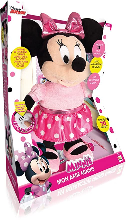 Amazon.com: Minnie Mouse 181847 My Interactive Friend Toy by Disney: Toys & Games