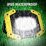 30W Rechargeable Portable Work Light, T-SUN LED Floodlights with USB, Spotlight Waterproof Outdoor for Car Repairing…