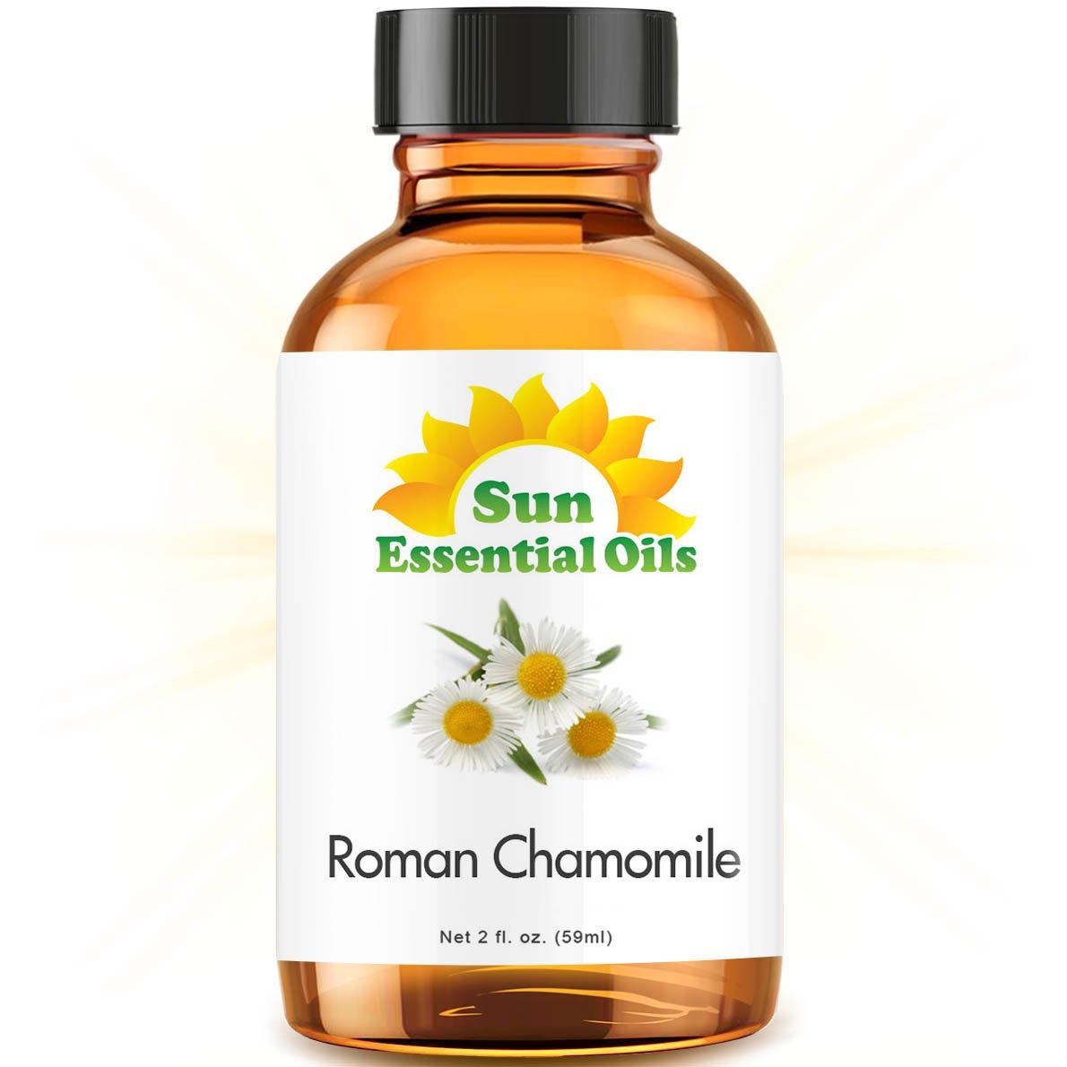 Chamomile (Roman) (2 fl oz) Best Essential Oil - 2 ounces (59ml)