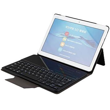 new concept 021a8 12299 SCIMIN Huawei MediaPad M3 Lite 10 Folding Smart Case: Amazon.co.uk ...
