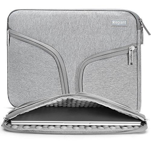 Egiant Shockproof Laptop Sleeve Padded Protective Case Compa