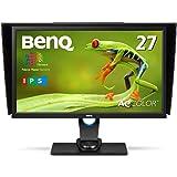 BenQ カラーマネージメントモニター ディスプレイ SW2700PT 27インチ/WQHD/IPS/DisplayPort,HDMI,DVI搭載/遮光フード付/AdobeRGB/写真編集用