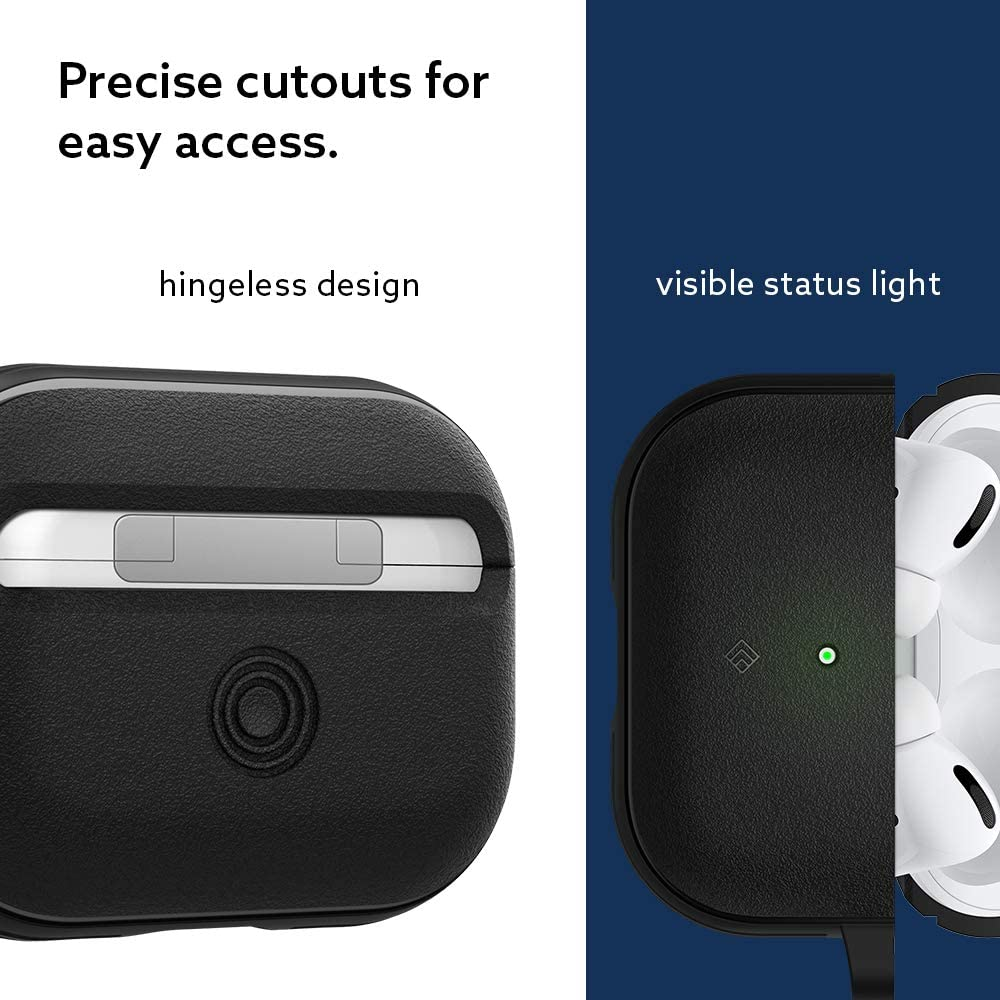 Matte Black 2019 Caseology Vault for Apple Airpods Pro Case