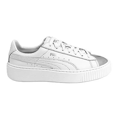 3e0ee694b5cd Puma Basket Platform METALLIC Damen Sneakers Schuhe  Amazon.de ...