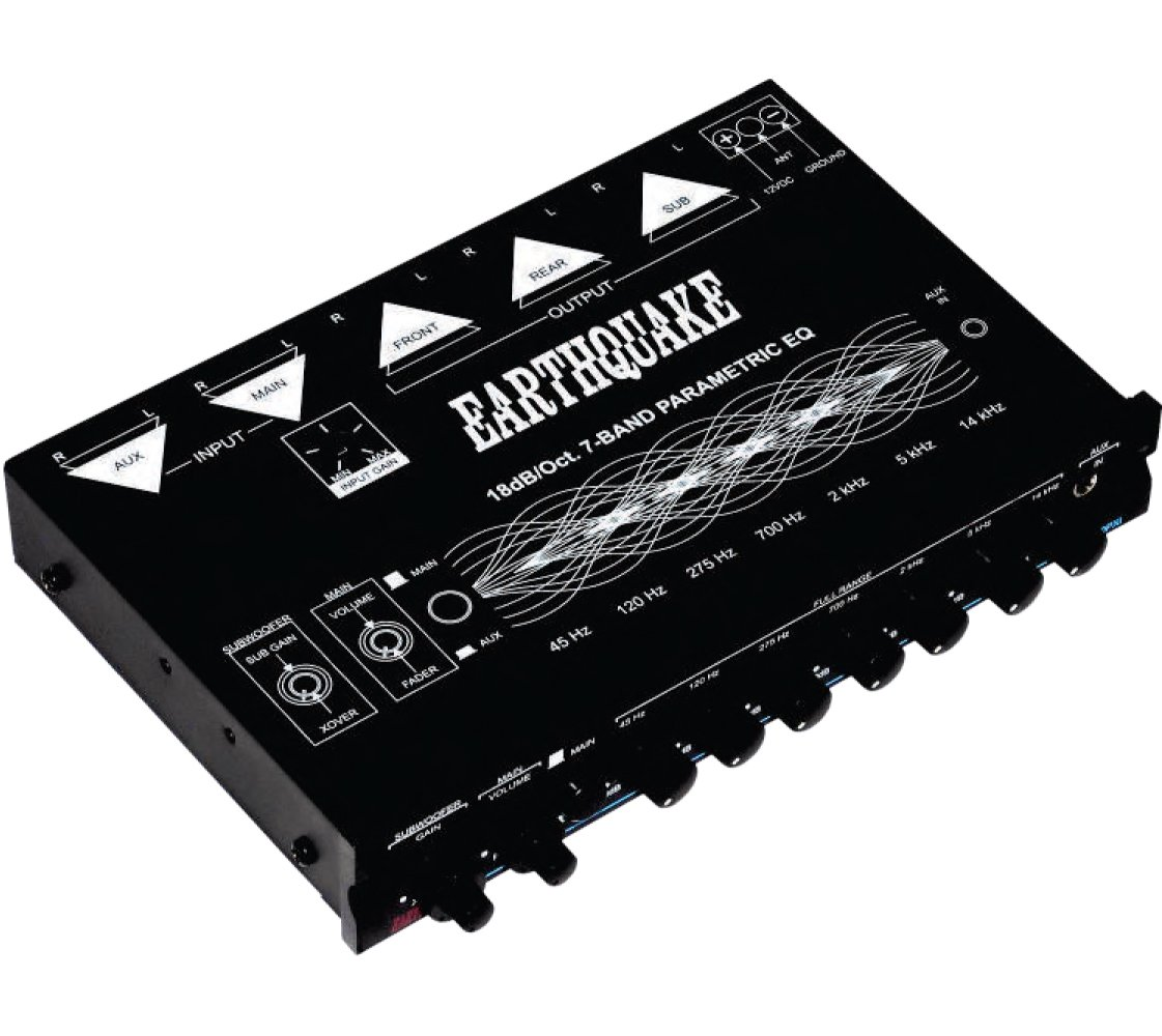 Earthquake Sound EQ-7000PXi 7-Band Equalizer EQ7000PXi