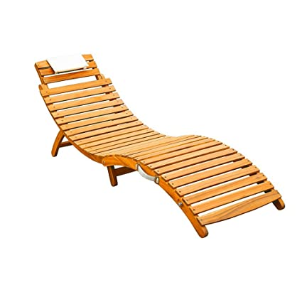 Strange Amazon Com Lounge Chair Recliner Wood Beach Curved Gmtry Best Dining Table And Chair Ideas Images Gmtryco