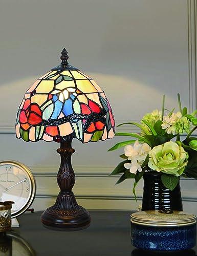 Lámpara de sobremesa de 8 pulgadas, estilo vintage, estilo vintage ...