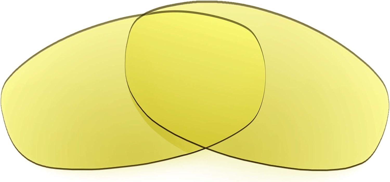 Revant Verres de Rechange pour Oakley Tightrope - Compatibles avec les Lunettes de Soleil Oakley Tightrope Jaune Traceur - Non Polarisés