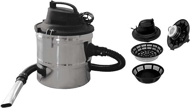 Lienbacher – Aspirador de cenizas Mississippi aspirador de ceniza para chimenea, horno: Amazon.es: Bricolaje y herramientas