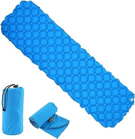 Enjoygoeu Azul Colchón Inflable Hinchable Cama de Gas ...