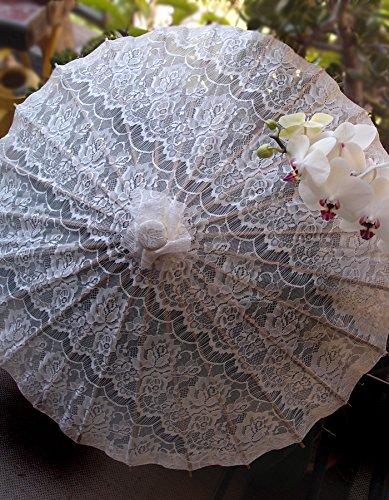 Quasimoon Fabric Parasol Umbrella PaperLanternStore