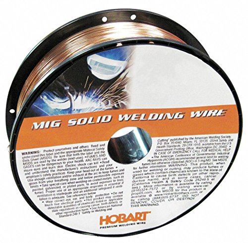 - Hobart 11 lb. Carbon Steel Spool MIG Welding Wire with 0.030
