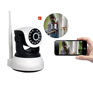 Cámaras de Vigilancia WiFi IP Camera sin hilos, 1080p HD Wireless Video Vigilancia, Nightvision